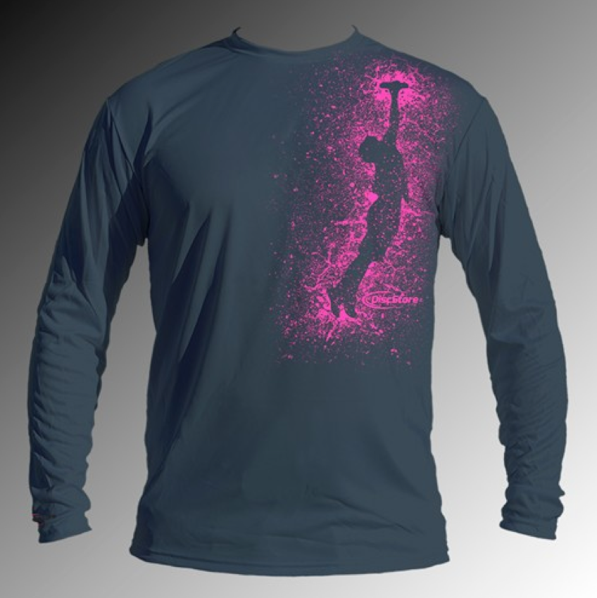 Splatter Sky Long Sleeve Jersey