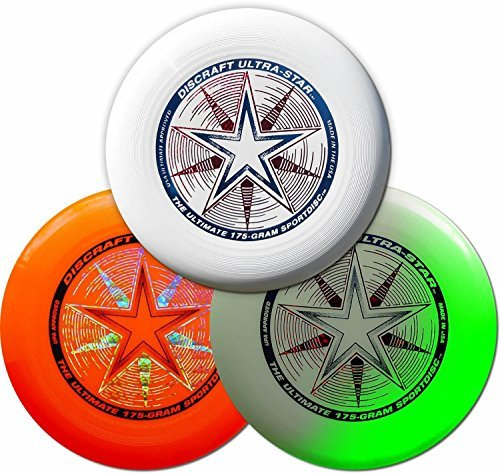 Ultimate Flying Disc ILU 175g Championship Level Disc of WFDF and USAU Features Durable Flying Disc for Ultimate Games